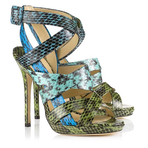 Jimmy Choo Spring/Summer 2014 - Dido in Sea Mix