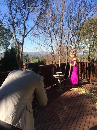 Dimitry shooting Kathleen Rose Perkins for RegardMag.com Feb 2015
