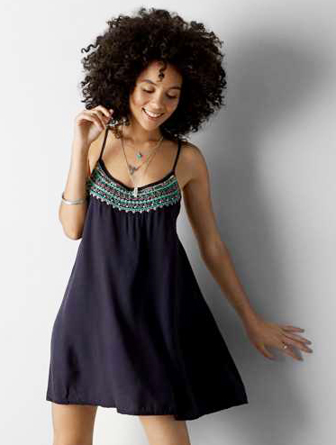 American Eagle Outfitters Babydoll Dress