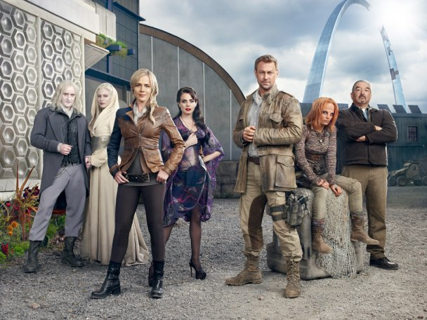 Cast of SyFy's Defiance