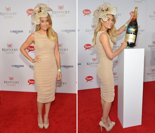 Lauren Conrad on the 139th Kentucky Derby Red Carpet