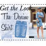 GET THE LOOK – The Denim Skirt