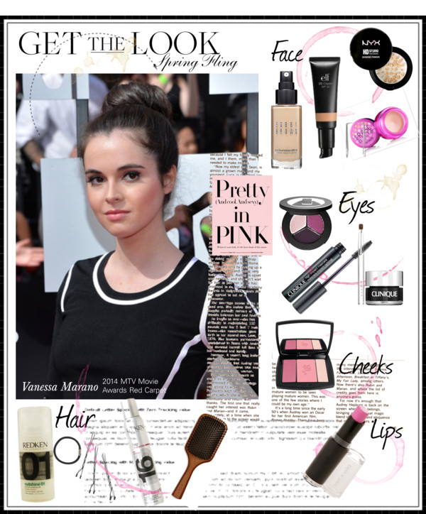 Get the Look- Pretty in Pink with Vanessa