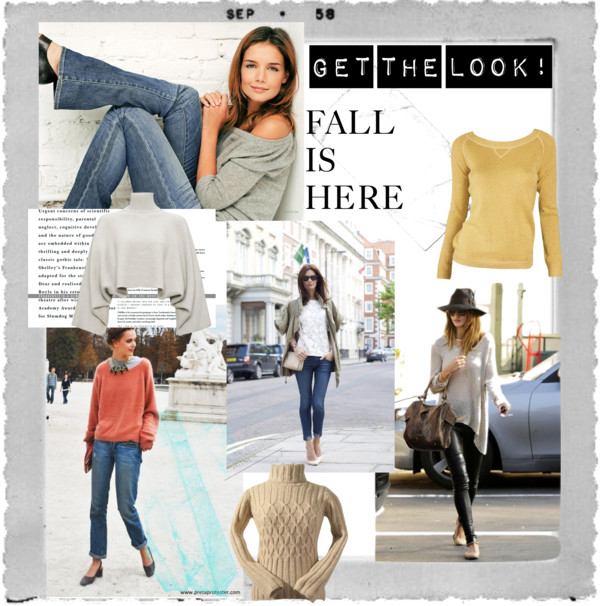 Get the Look Sweaters