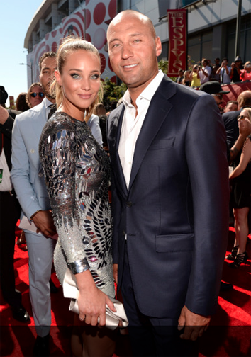 Hannah Davis and Derek Jeter at the 2015 ESPY Awards. (Getty Image)