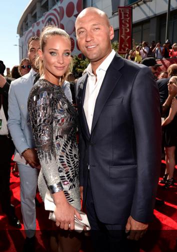Hannah Davis and Derek Jeter at the 2015 ESPY Awards. (Getty Image)