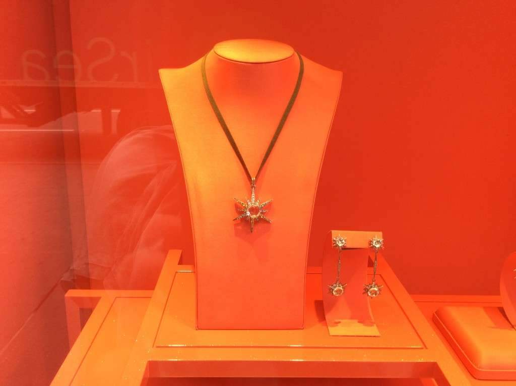 Jewelry Window Display