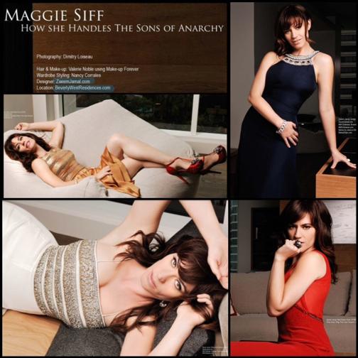Maggie Siff for RegardMag.com Issue 17