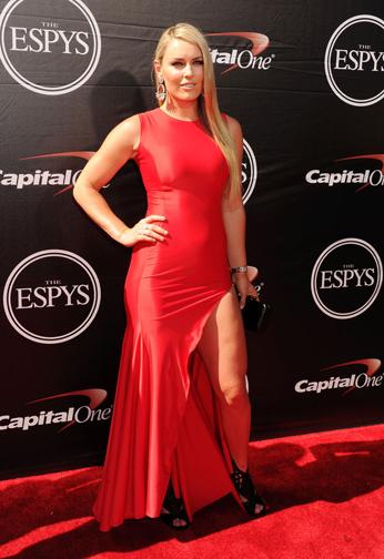 Lindsey Vonn  at  The 2015 ESPYS (Photo by Jeffrey Mayer/WireImage)