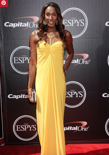 Lisa Lesie at the 2015 Espy Awards (Getty Images)