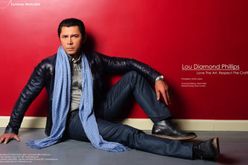 Lou Diamond Phillips for RegardMag.com June 2014