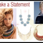 On Trend – Statement Necklaces