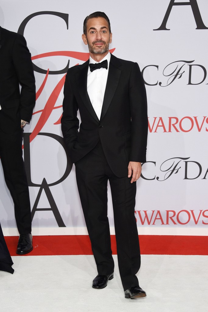 Menswear Desinger of the Year winner, Marc Jacobs at the CFDA Awards 2015