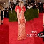 RED CARPET – Met Gala 2015