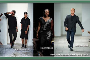 New York Fashion 2 Week Spring 2015