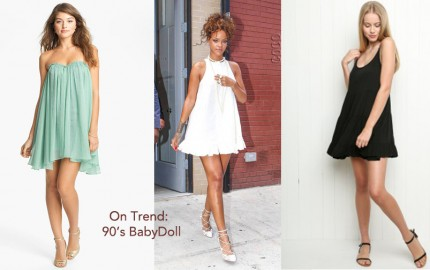 Regard Magazine 90's Babydoll Dress