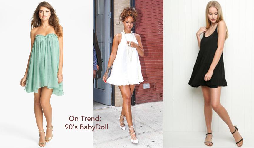 Regard Magazine 90's Babydoll Dress