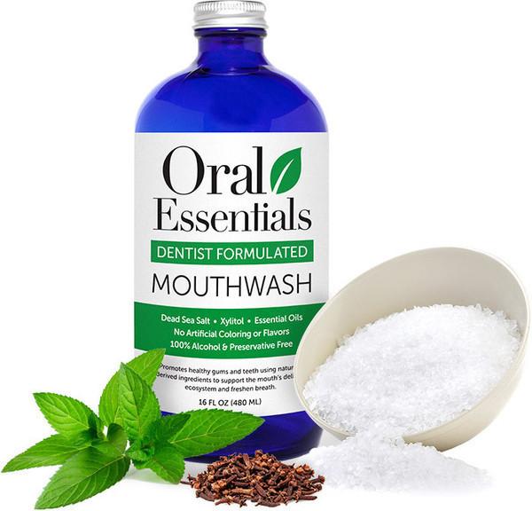 Oral Essentials Mouthwash  $15.99