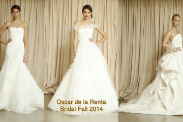 Oscar de la Renta Bridal 2014 featured