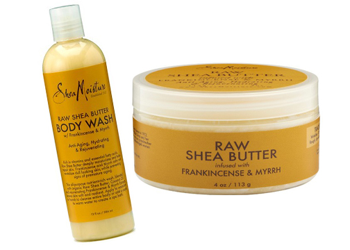 SheaMoisture Raw Shea Butter Body Wash and Body Butter $8.99