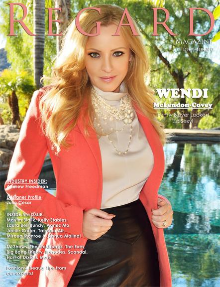 Wendi McLendon-Covey for RegardMag.com Dec 2013