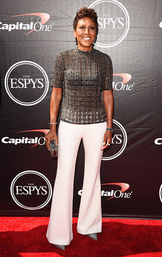 Robin Roberts at The 2015 ESPYS  (Photo by Jason Merritt/Getty Images)