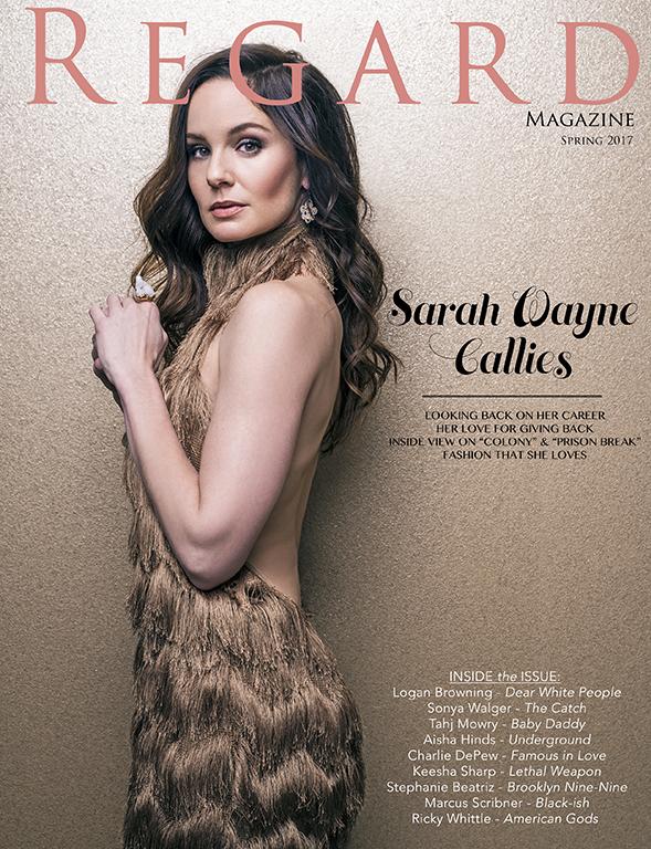 Sarah Wayne Callies Regard Magazine