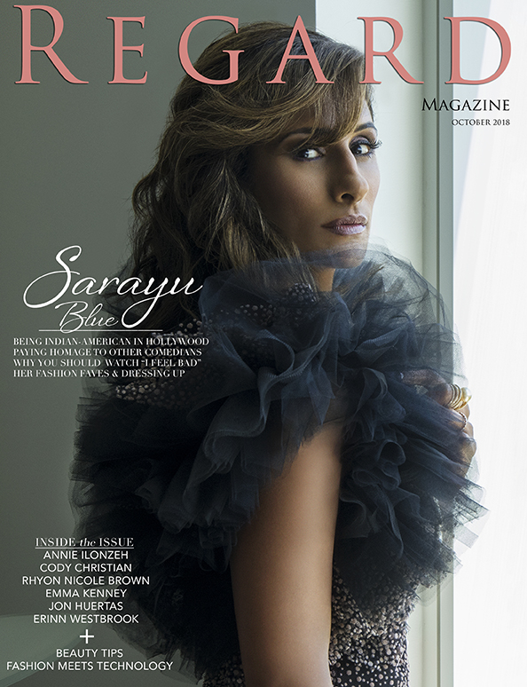 Sarayu Blue for Regard Magazine