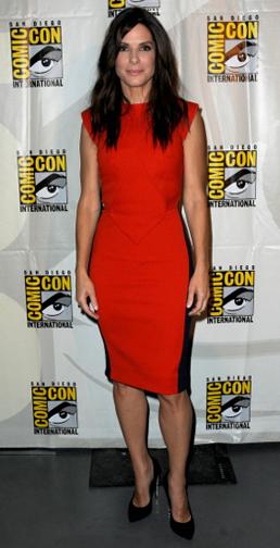 Sandra Bullock at San Diego's Comic Con 2013