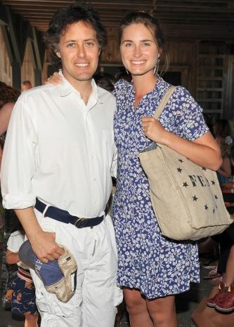 David Lauren And Lauren Bush Lauren At Ralph Laurens Day At The Stables