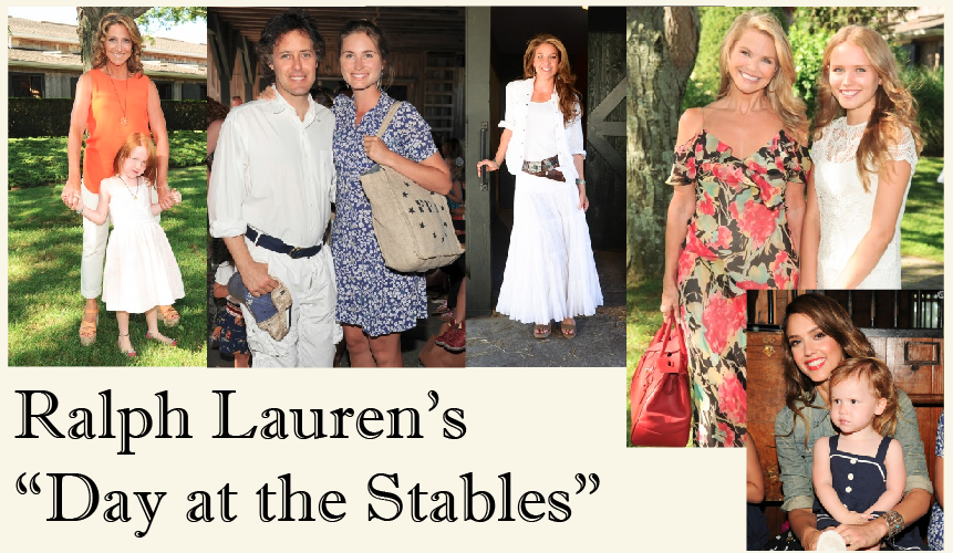 Fashion Events Ralph Laurens Day At The Stables Fashion Show