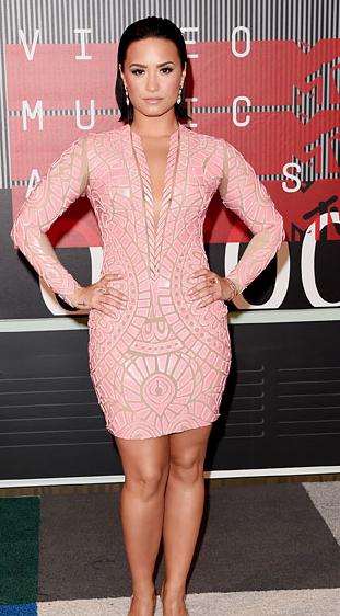 2015 VMA Demi Lovato
