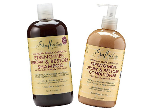 SheaMoisture Jamaican Black Castor Oil Replenishing Shampoo and Conditioner $10.99 each