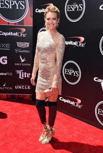 Amy Purdy at The 2015 ESPYS  (Photo by Steve Granitz/WireImage)