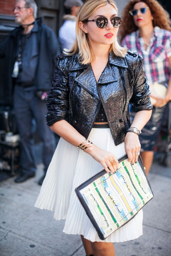 Street Style for Fashion Week Spring 2014