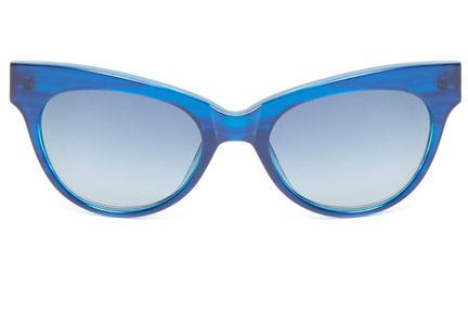 The Row Blue cat eye $99