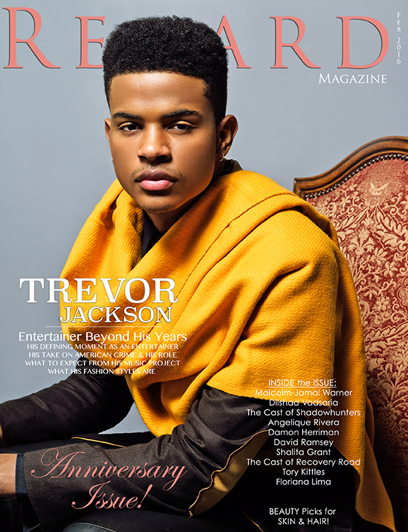 Trevor Jackson for RegardMag.com February 2016