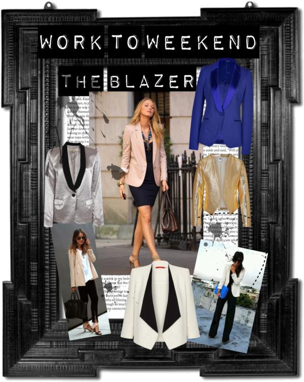 Work to Weekend Blazers