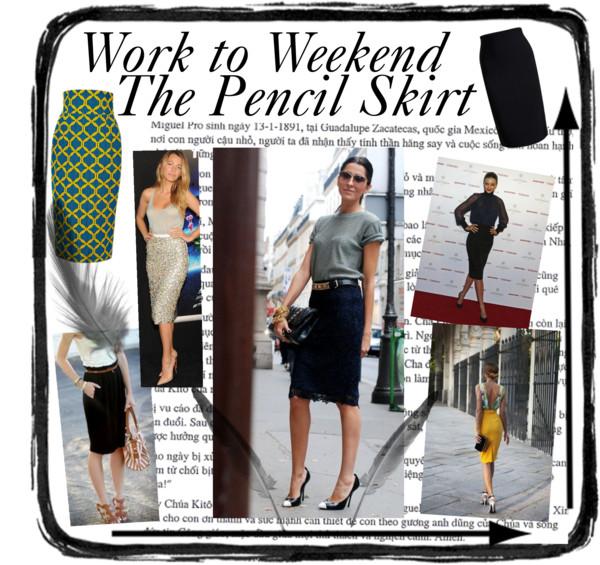 Work to Weekend Pencil Skirt