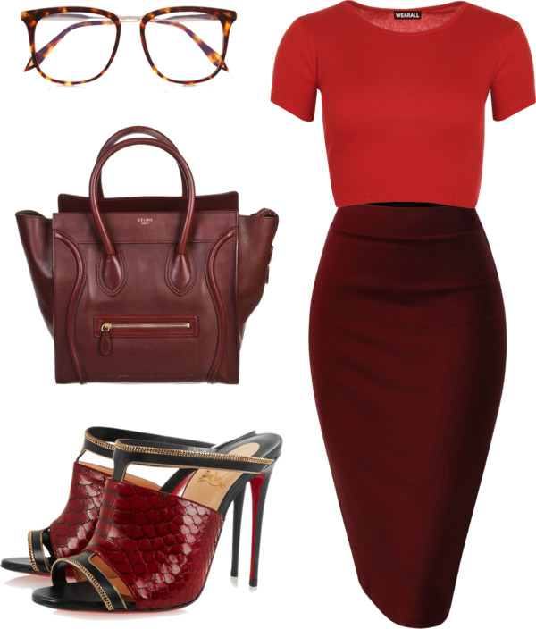 burgandy babe monochromatic dressing