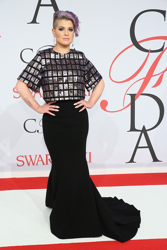 Kelly Osbourne  at the CFDA Awards 2015 (Getty Image)
