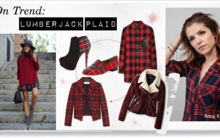 on Trend Lumberjack plaid featured