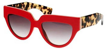 Prada Poeme Red Eye Havana shades $120