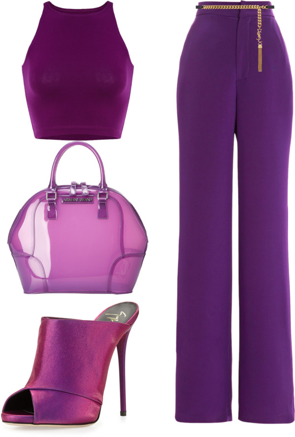 purple passion monochromatic dressing