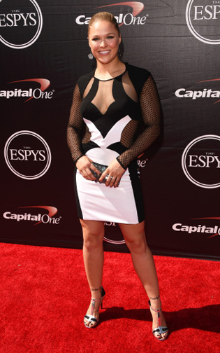 Ronda Rousey at The 2015 ESPYS  (Photo by Jason Merritt/Getty Images)